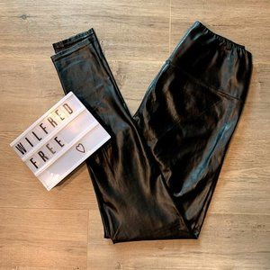 WILFRED FREE Daria pant High-waisted Vegan leather